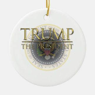 Trump - The President Circle Ornament
