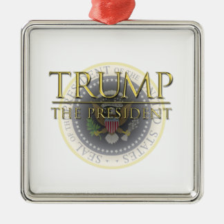 Trump - The President Premium Square Ornament