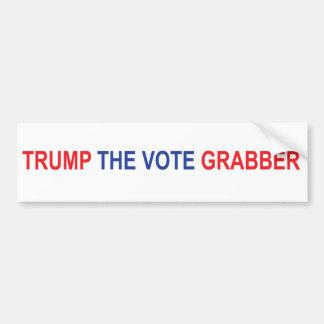 Trump the Vote Grabber Bumper Sticker