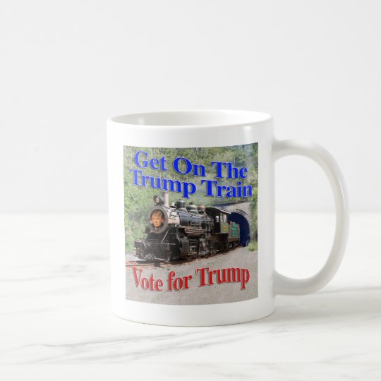trump train1 coffee mug