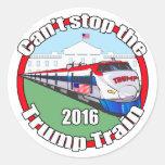 Trump Train 2 Round Sticker