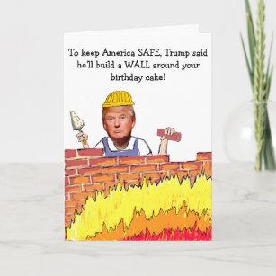 Funny Donald Trump Political Birthday Cards