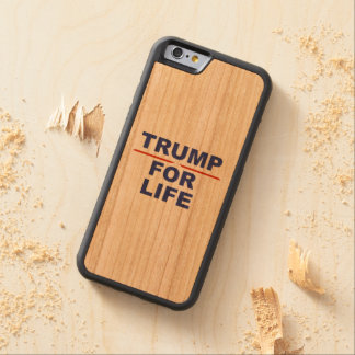 TRUMP WILL BE LIFE CHERRY iPhone 6 BUMPER