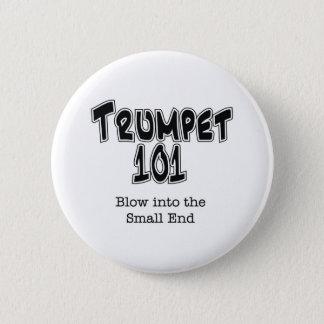 Trumpet 101 6 cm round badge