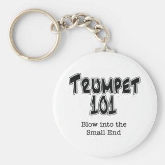 Trumpet 101 key ring
