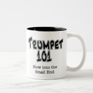Trumpet 101 Two-Tone coffee mug