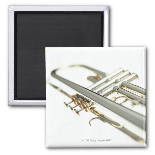 Trumpet 2 square magnet