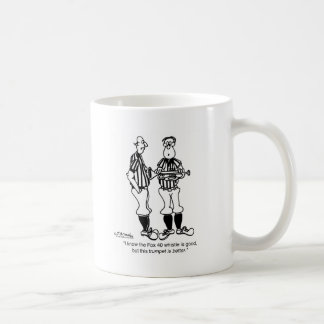 Trumpet Better Than a Whistle Coffee Mug