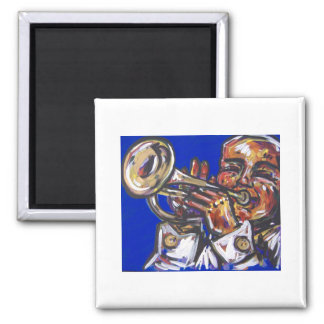 trumpet blues magnet