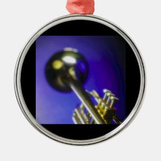 Trumpet Close-Up 2 Christmas Ornaments