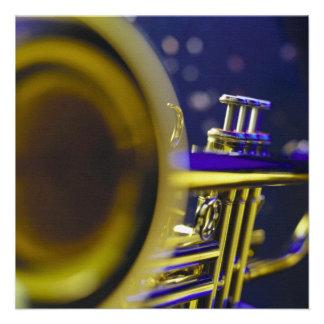 Trumpet Close-Up 3 Personalized Invite