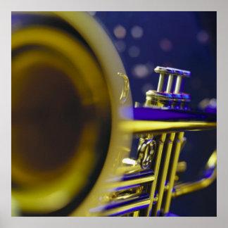 Trumpet Close-Up 3 Poster