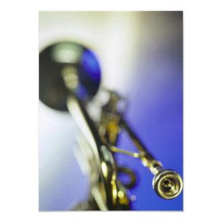 "Trumpet Close-Up 4.5"" X 6.25"" Invitation Card"