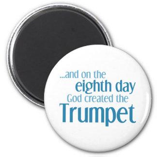 Trumpet Creation Refrigerator Magnets