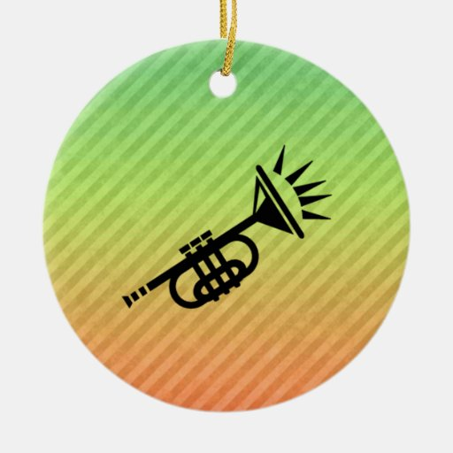 Trumpet Christmas Tree Ornaments