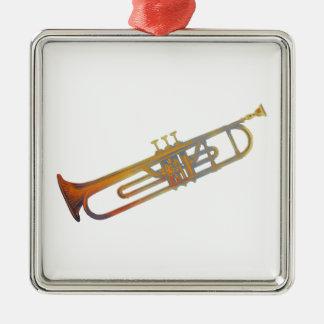 Trumpet Christmas Tree Ornament