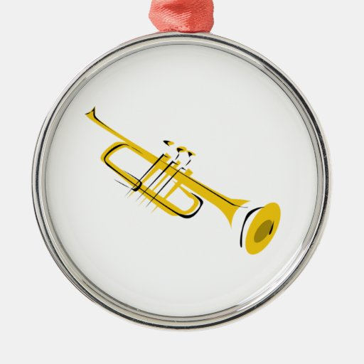 Trumpet Christmas Ornaments