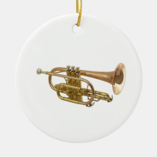"""""""Trumpet"""" design gifts and products Christmas Ornaments"""