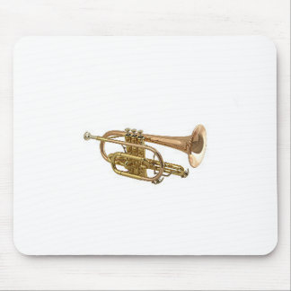 """Trumpet"" design gifts and products Mouse Mat"