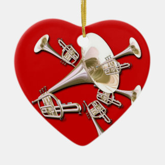 Trumpet Dream Christmas Ornament