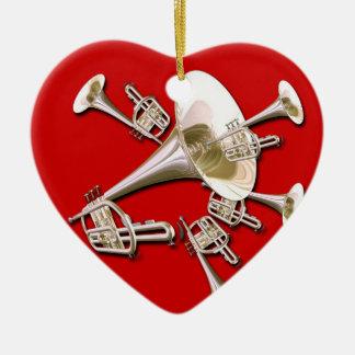 Trumpet Dream Christmas Ornament