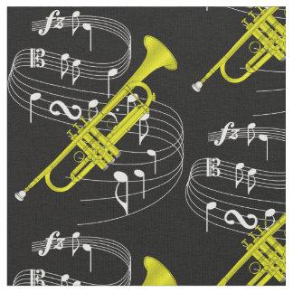 Trumpet Fabric- Dark Fabric