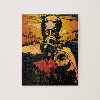 Trumpet Fire Jigsaw Puzzle