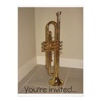 Trumpet invitation