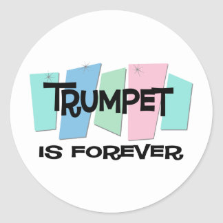 Trumpet Is Forever Sticker