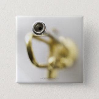 Trumpet Mouth Piece 15 Cm Square Badge