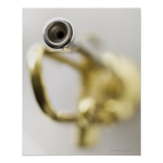 Trumpet Mouth Piece Poster