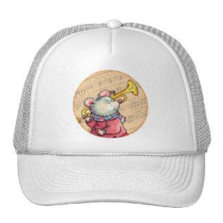 Trumpet Music Mouse - cap