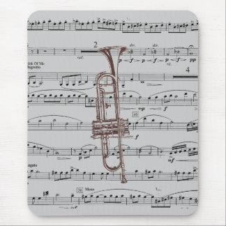 Trumpet Music Mouse Mat