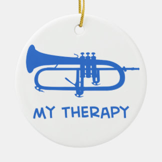 Trumpet my therapy ornaments