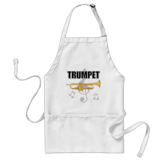 Trumpet Notes Apron