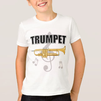 Trumpet Notes Kids T-Shirt