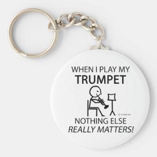 Trumpet Nothing Else Matters Key Ring