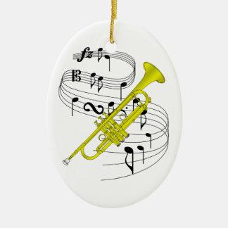 Trumpet Ornament