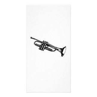Trumpet Photo Cards