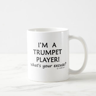 Trumpet Player Excuse Coffee Mug