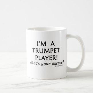 Trumpet Player Excuse Coffee Mugs