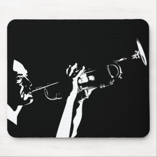 Trumpet Player Mousepad