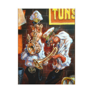 Trumpet Player Music Art Print