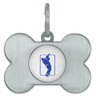 trumpet player outline park n blow blue.png pet name tag