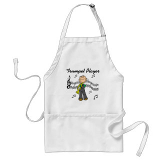 Trumpet Player T-shirts and Gifts Apron