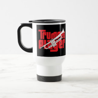 Trumpet Player Travel Mug