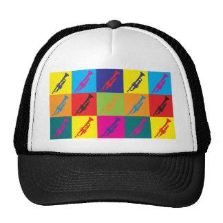 Trumpet Pop Art Cap