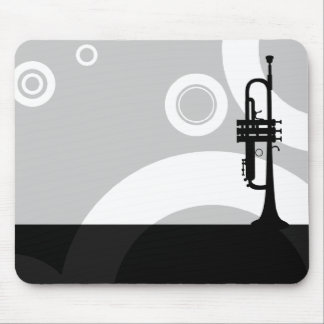 trumpet rings mouse mat