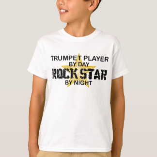 Trumpet Rock Star by Night T-Shirt