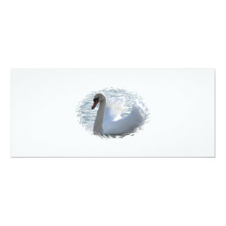 "Trumpet Swan Invitation 4"" X 9.25"" Invitation Card"